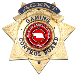 Nebraska Gaming Commission Officer Shield